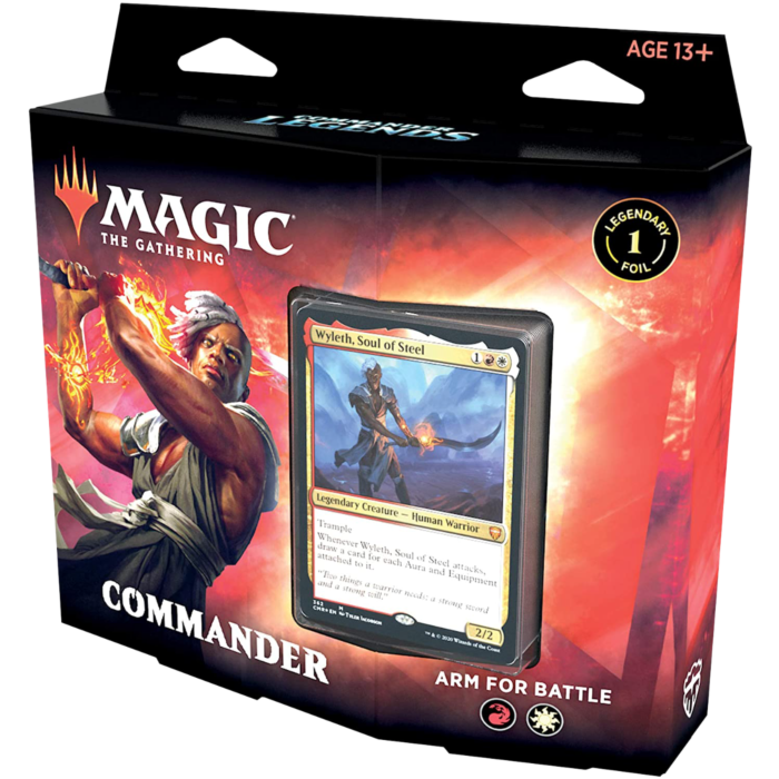 Magic The Gathering Commander Arm for Battle