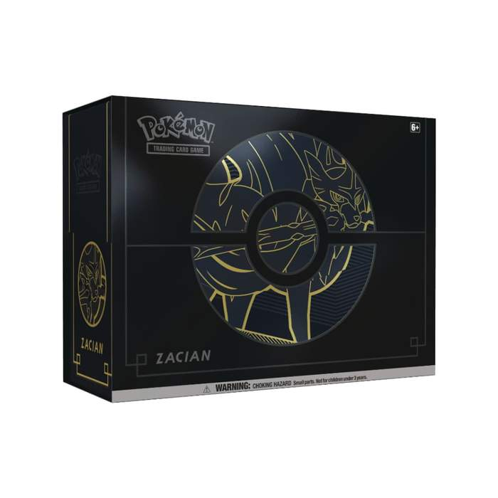 Pokemon Zacian Elite Trainer Box Plus