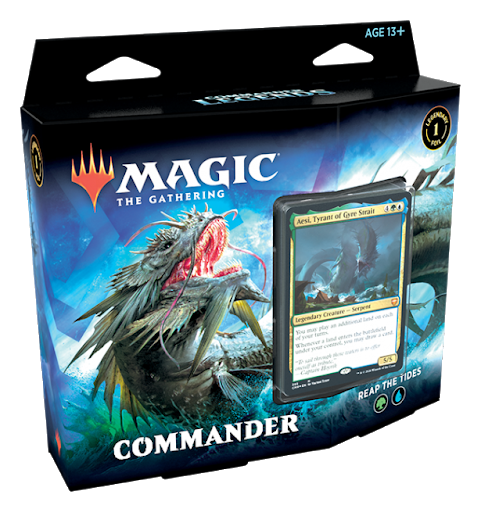 Magic The Gathering Commander Reap the Tides