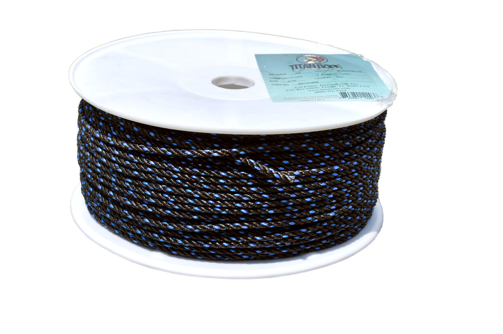3-Strand Twisted Polyethylene Rope