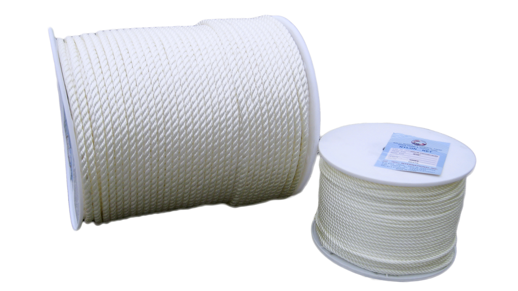 3 Strand Twisted Nylon Rope