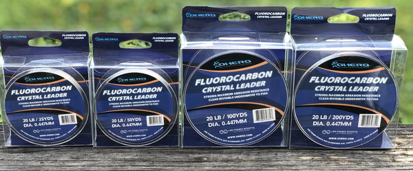 Ohero Fluorocarbon Crystal Leader
