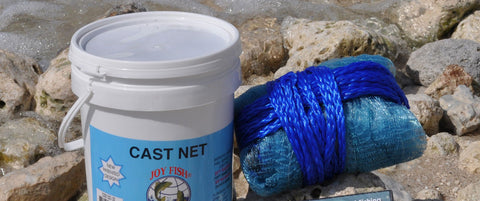 "Joy Fish Professional Bait Nets 3/8"" Sq. Mesh"