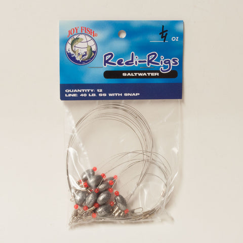 Redi-Rigs Stainless with Snap (Weighted)