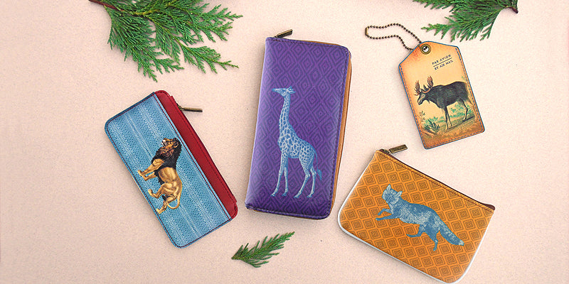 Mlavi Studio Animal Themed Vegan Bags, Wallets, Pouches & Travel Accessories