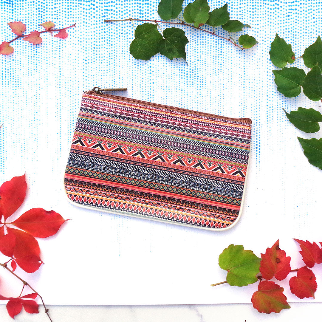 Mlavi Studio wholesale vegan leather bags, wallets and pouches with Aztec pattern prints at http://www.mlavi.com/mlavi-aztec-themed-mexican-style-design-vegan-bag-wallet-and-accessories-wholesale.html