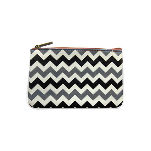 BC-AT001: Chevron print small pouch/coin purse