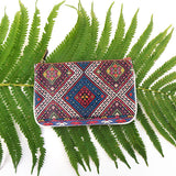 BC-BK001: Balkan pattern print vegan small pouch/coin purse