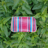 Camila Mexican serape print faux leather pouch - Mlavi  - 1