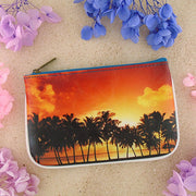 Shop for Eco-friendly, toxic-free, ethically made vegan/vegan leather small pouch/coin purse with poetic photography & inspiration quote print by Mlavi. Wholesale available at http://mlavi.com along with other fun & unique vegan fashion accessories
