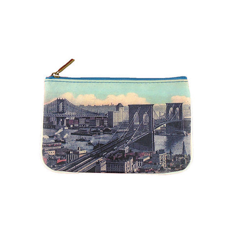 BC-NY014: New York bridges small pouch/coin purse
