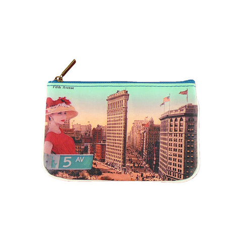 BC-NY015: New York 5th Avenue small pouch/coin purse