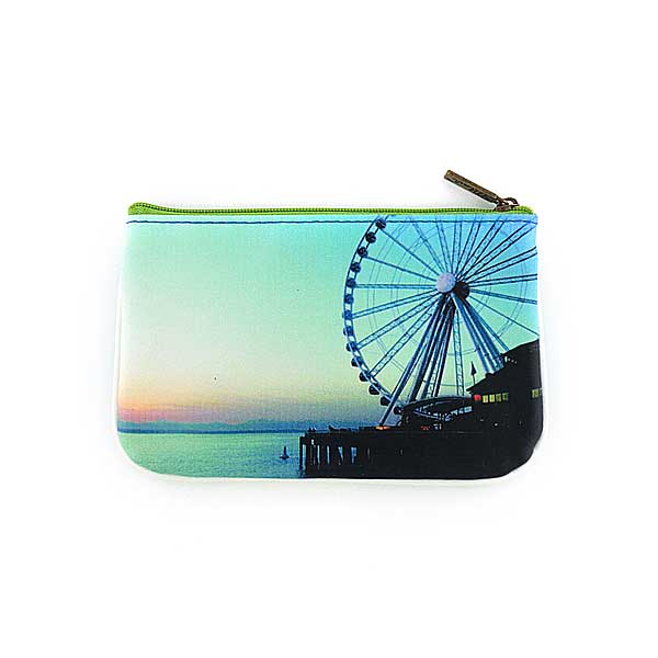 Seattle vegan leather pouch-great wheel