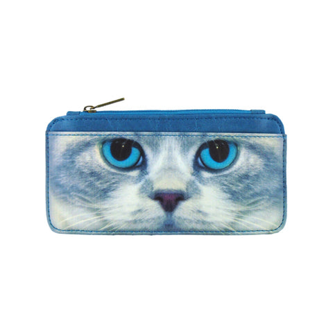Shop Mlavi's cat vegan leather cardholder. Wholesale available at http://www.mlavi.com/cat-and-dog-collection-vegan-bag-wallet-accessories-wholesale.html