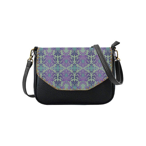 Dini Ikat print faux leather cross body seattle bag
