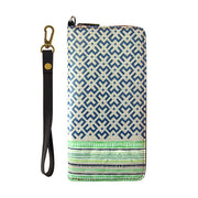 Shop Mlavi Bali printed vegan wristlet large wallet for women made with Eco-friendly & cruelty free vegan materials. Gift shop & boutique buyer can order wholesale at www.mlavi.com for ethically made & unique fashion accessories including bags, wallets, purses, coin purses, travel accessories & gifts.