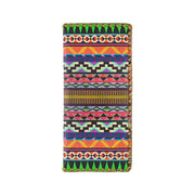 Shop Mlavi's whimsical vegan large flat wallet with Bohemian style Aztec print. A great gift for family & friends. Wholesale available at www.mlavi.com gift shops, fashion accessories & clothing boutiques in Canada, USA & worldwide.