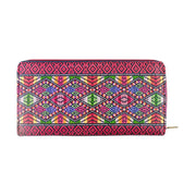 Shop Mlavi Peruvian textile pattern print vegan large zipper wallet made with durable, Eco-friendly vegan materials. A great gift for family & friends. Wholesale available at www.mlavi.com gift shops, fashion accessories & clothing boutiques in Canada, USA & worldwide.