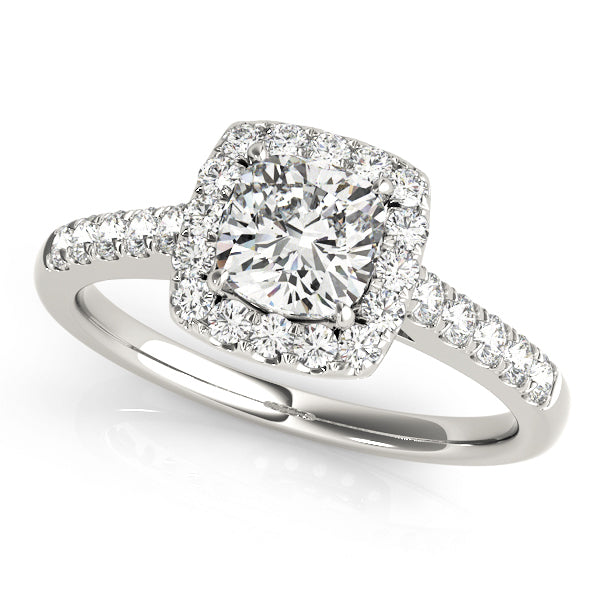 ENGAGEMENT RINGS HALO SQUARE & CUSHION