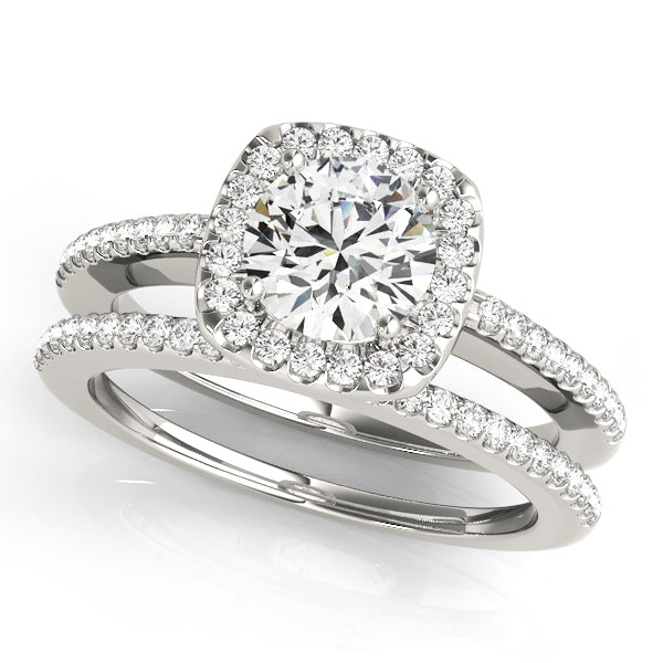 ENGAGEMENT RINGS HALO ROUND **50551