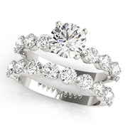 SINGLE PRONG ENGAGEMENT RING