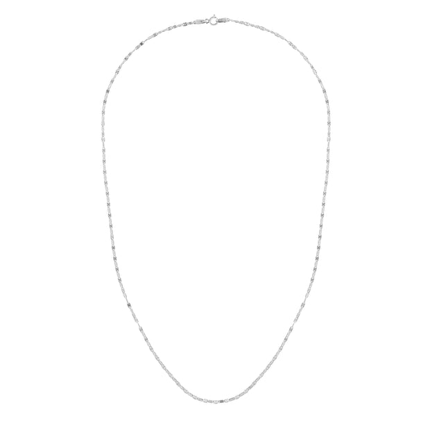 14K Gold 1.7mm Sparkle Valentino Chain
