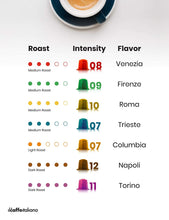 Load image into Gallery viewer, 100 Nespresso Compatible Venice Coffee Capsules