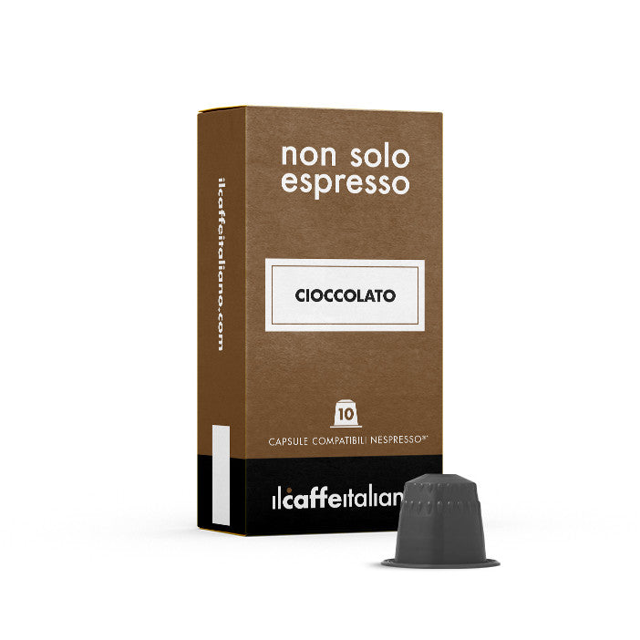 50 Nespresso Compatible Chocolate Tea Capsules