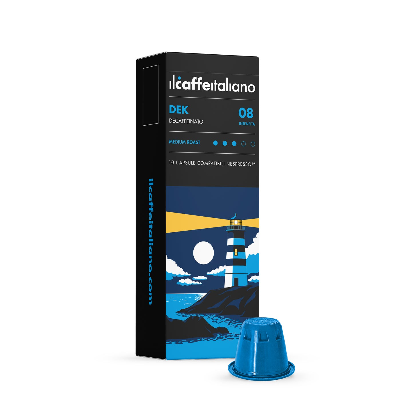100 Nespresso Compatible Decaffeinated Coffee Capsules
