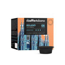 Load image into Gallery viewer, 100 Lavazza A Modo Mio Compatible Coffee Milan Capsules