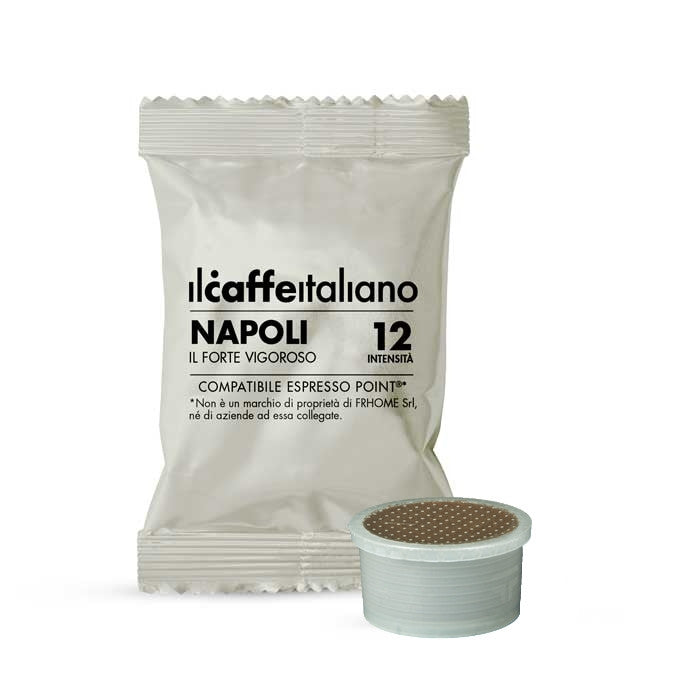 100 Lavazza Espresso Point Compatible Naples Coffee Capsules