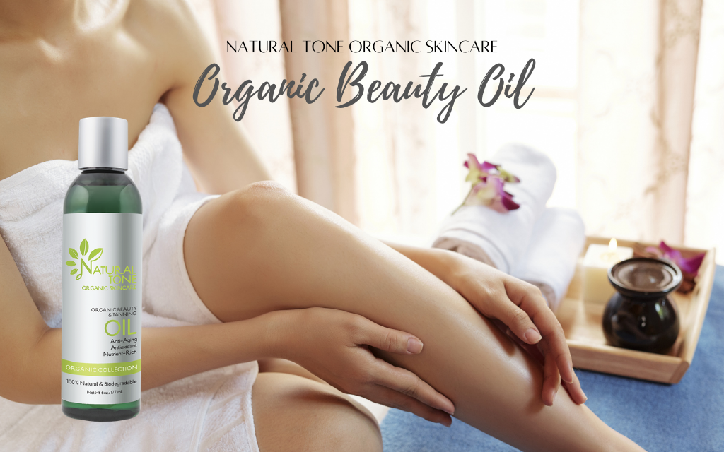 The key to youthful, beautiful skin...the Organic Beauty Oil!