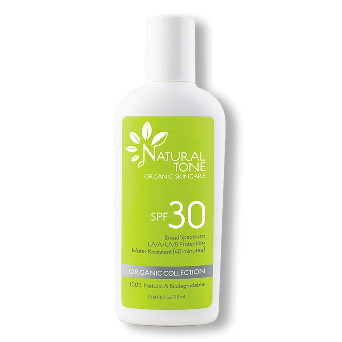 SPF 30 Natural Sunscreen - Natural Tone Organic Skincare
