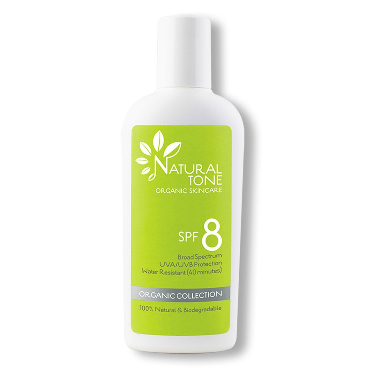SPF 8 Natural Sunscreen - Natural Tone Organic Skincare