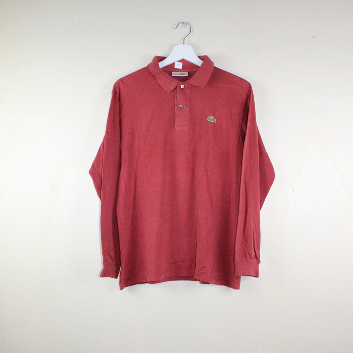 MAN VINTAGE CHEMISE LACOSTE POLO LONG SLEEVE LOVE