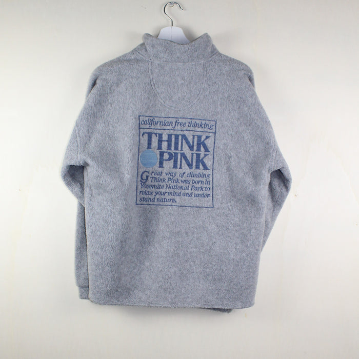 WOMAN VINTAGE THINK PINK FLEECE