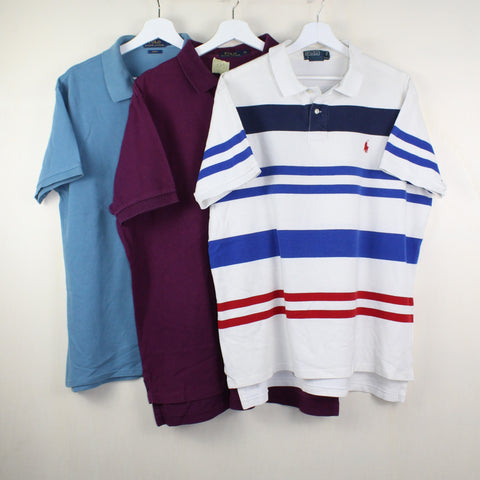 MAN VINTAGE SET OF 3 POLO RALPH LAUREN