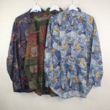 MAN VINTAGE SET OF 3 CRAZY SHIRTS