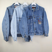 MAN VINTAGE SET OF 3 DENIM JACKETS