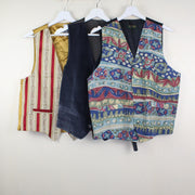 MAN VINTAGE SET OF 3 CRAZY GILET