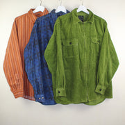 MAN VINTAGE SET OF 3 CORDUROY SHIRTS