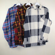 MAN VINTAGE SET OF 3 FLANEL SHIRT