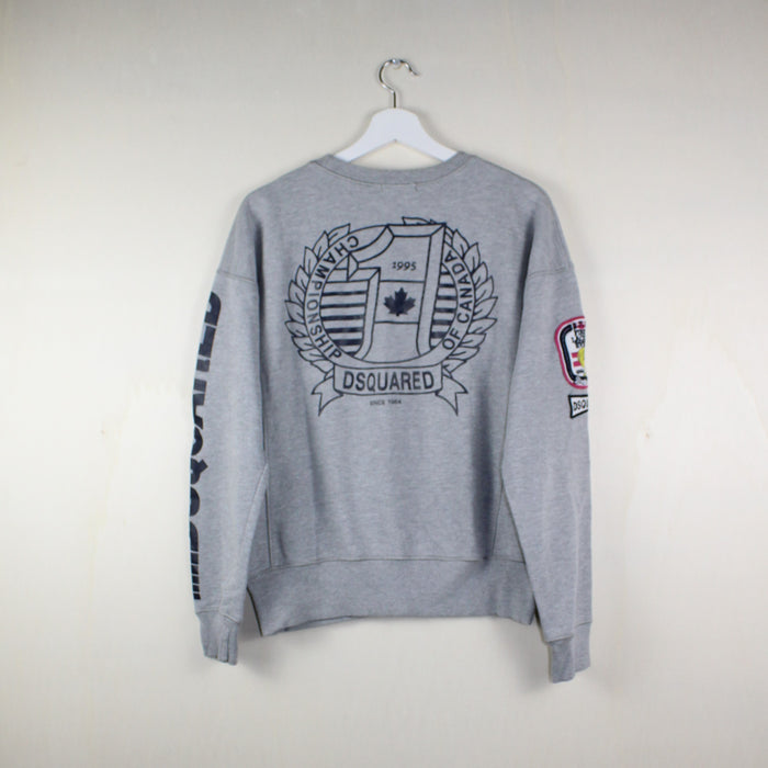 MAN VINTAGE DSQUARED SWEATSHIRT 2 POCKETS LOVE