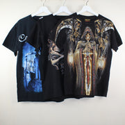 MAN VINTAGE SET OF 3 ROCK T-SHIER