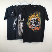 MAN VINTAGE SET OF 3 ROCK T-SHIRT