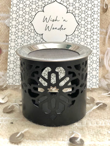 "Incense burner ""basic"" black"