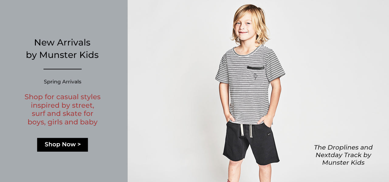Kids Clothes, Kids Shorts, Kids Shirts by Munster Kids