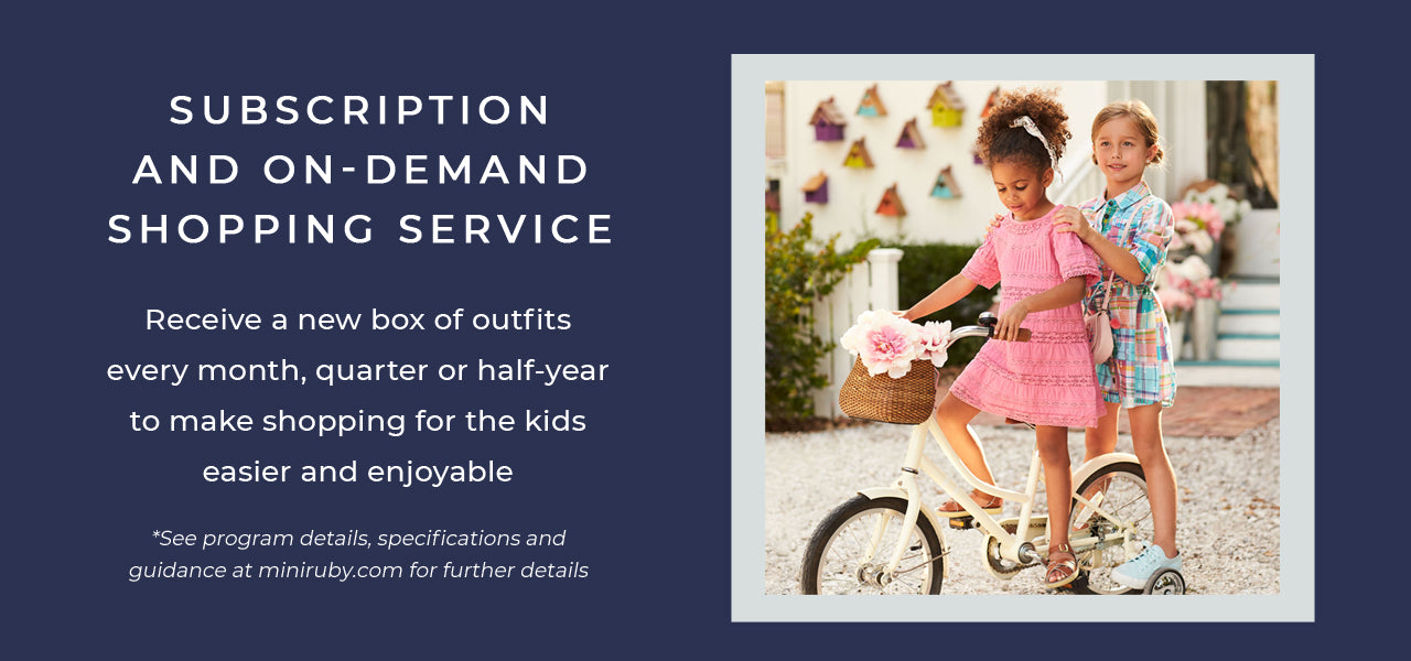 Kids Clothes Subscription and On-Demand Shopping Service