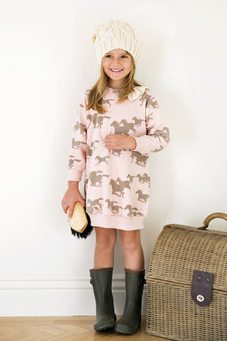 Go Gently Baby Ponies Dress