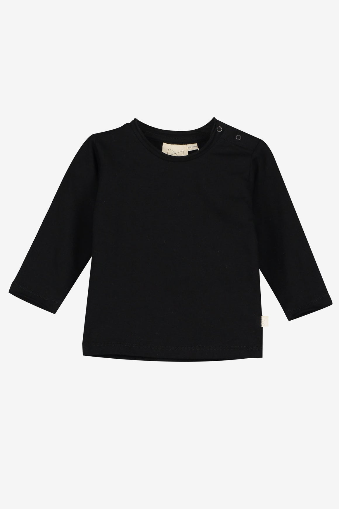 Mini Sibling Baby Top - Black